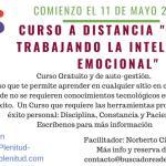 """Curso a Distancia """"21 días Trabajando la Inteligencia Emocional"""" Tercera Edición"""