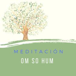 Meditación con mantra OM SO HUM