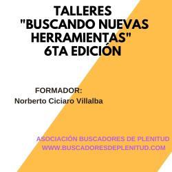 """Talleres Online """"Buscando Nuevas Herramientas"""" Edición 6"""