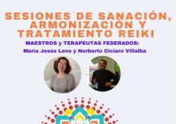 Sesiones de Sanación, Armonización y Tratamiento Reiki