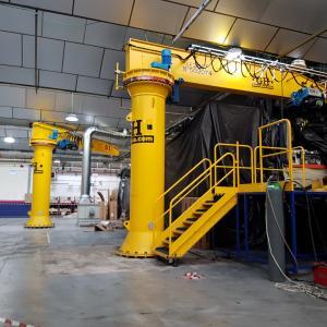 Cimentaciones para maquinaria industrial