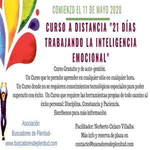 """Presentación: Curso a Distancia Gratuito Online """"21 días Trabajando la Inteligencia Emocional"""""""