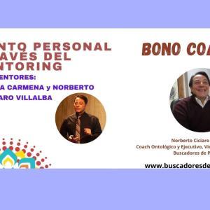 Sesiones Bono Coaching 50% y Crecimiento Personal a través del Mentoring