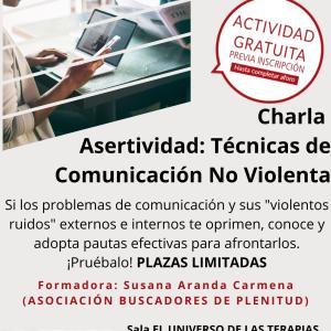 Charla Presencial: Asertividad: Técnicas de Comunicación No Violenta