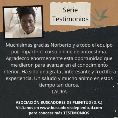 NUESTROS CLIENTES DAN TESTIMONIO - Laura S.