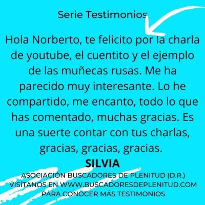 NUESTROS CLIENTES DAN TESTIMONIO - Silvia