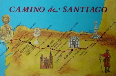 El Camino de Santiago: Un país en las alforjas