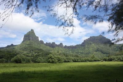 Viaje Vuelta al Mundo: Tropicalidad en la montaña Rotui.
