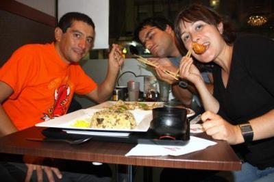 Viaje Vuelta al Mundo: Sushi, reencuentros y nocturnidad...