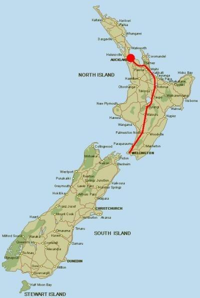 Viaje Vuelta al Mundo: Seguimos en Wellington...