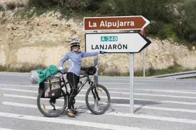 Viaje a La Alpujarra en bicicleta: Destino Lanjarón