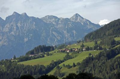 En las puertas del Hohe Tauern