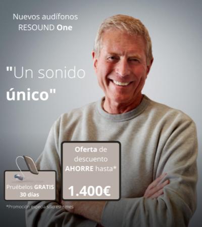 Nuevos audífonos RESOUND One