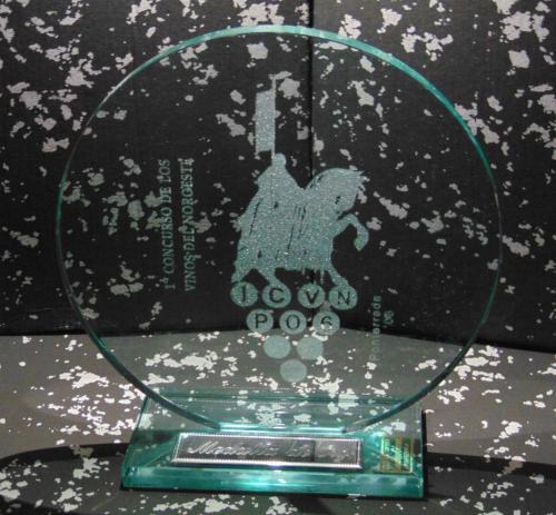 Medalla de Oro Vinos del noroeste mejor vino de Castilla y Leon, Asturias y Galicia 2006