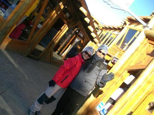 Viaje Vuelta al Mundo: frío en la patagonia.