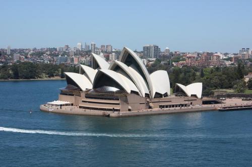 Viaje Vuelta al Mundo: Jornadas de puertas abiertas en la Sydney Ópera House.