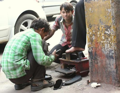 Viaje Vuelta al Mundo: Retratos de New Delhi.