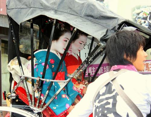 Viaja Vuelta al Mundo: Geishas de Kioto.