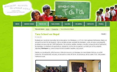 """Arranca """"Miles de Kms por una escuela en Nepal"""""""