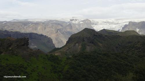 Entre dos glaciares, Islandia