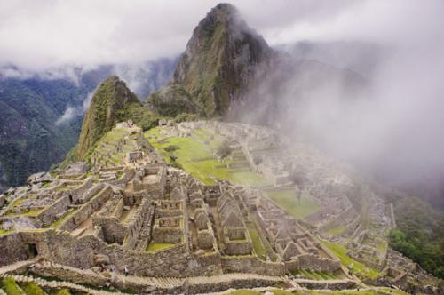 La última ciudad perdida de los Incas, Machu Picchu. Perú
