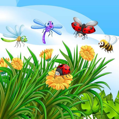 Se guían por la fragancia de las flores y activan su gps para no perderse.