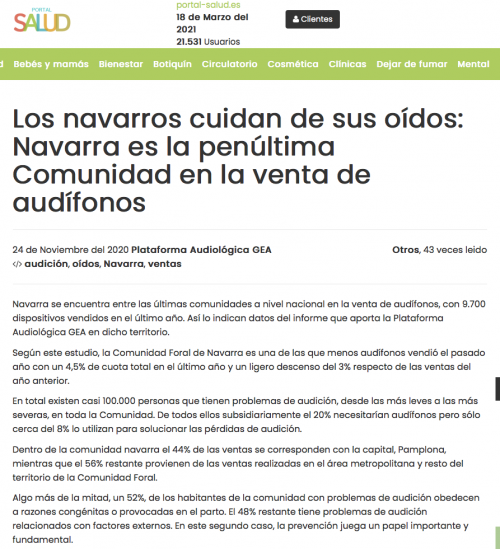 Navarra en Portal Salud