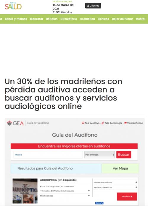Madrid en Portal Salud