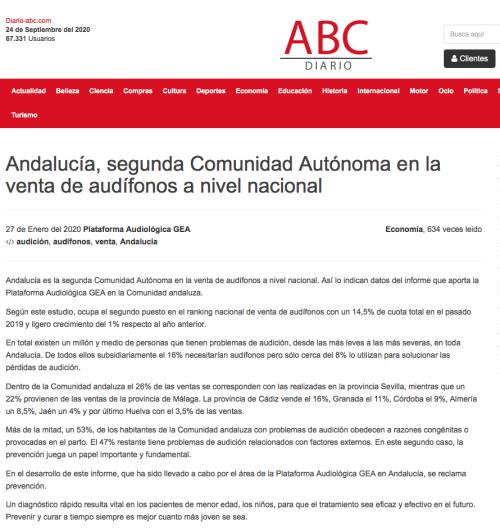 Andalucía en Diario ABC