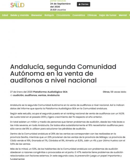 Andalucía en Portal Salud