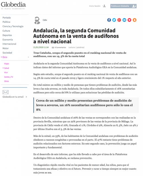 Andalucía en Globedia