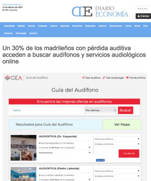 Madrid en Diario Economía