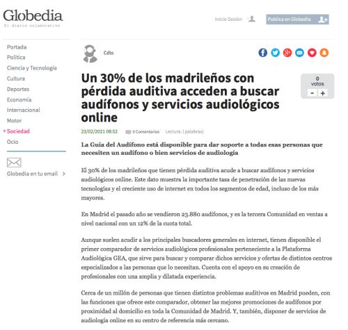 Madrid en Globedia