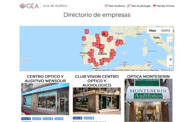 La Guía del Audífono: un directorio para encontrar clínicas y ópticas audiológicas