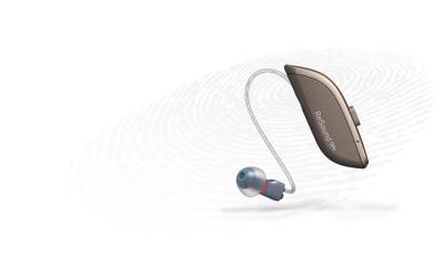 El micrófono del audífono