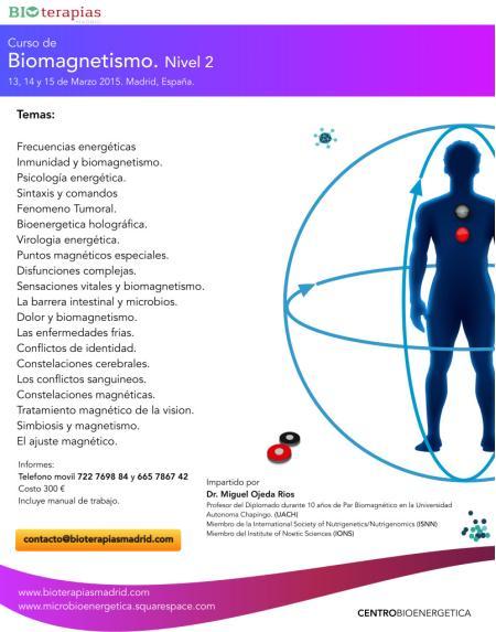 Curso de Biomagnetismo Nivel 2