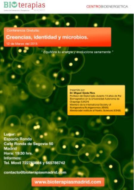 Charla Gratuita, Creencias, identidad y microbios