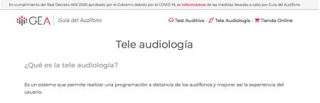 Descubriendo la Tele Audiología