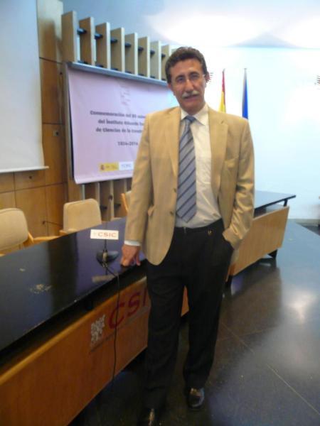 Ponencia en el Instituto Eduardo Torroja