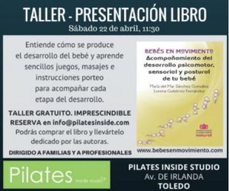 PRESENTACIÓN - TALLER BEBÉS EN MOVIMIENTO TOLEDO (CAPITAL)