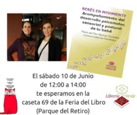 FIRMA LIBRO BEBÉS EN MOVIMIENTO FERIA DEL LIBRO DE MADRID 2017