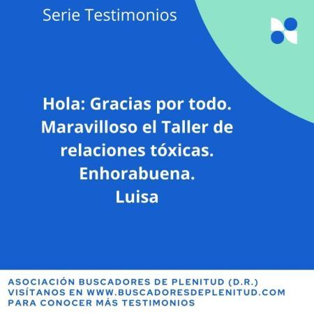 Nuestros Clientes dan Testimonio: Luisa