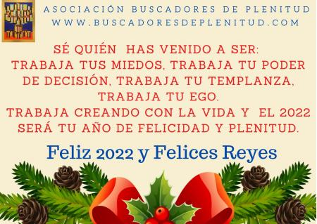 Desde Buscadores de Plenitud queremos desearte un FELIZ 2021!!!
